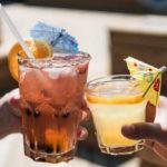 umbrella drinks cheers